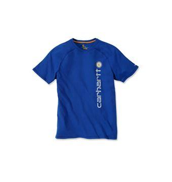 T-SHIRT FORCE COTTON DELMONT GRAPHIC 101121 BLUE CARHARTT