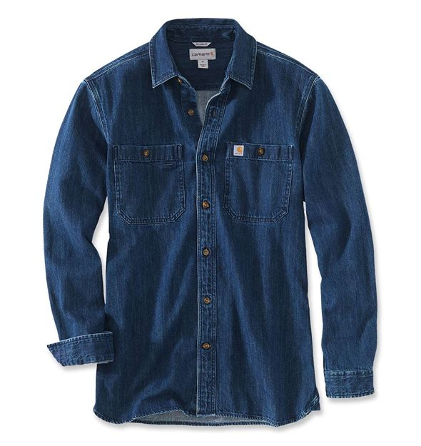 ΠΟΥΚΑΜΙΣΟ CARHARTT DENIM SHIRT 103854