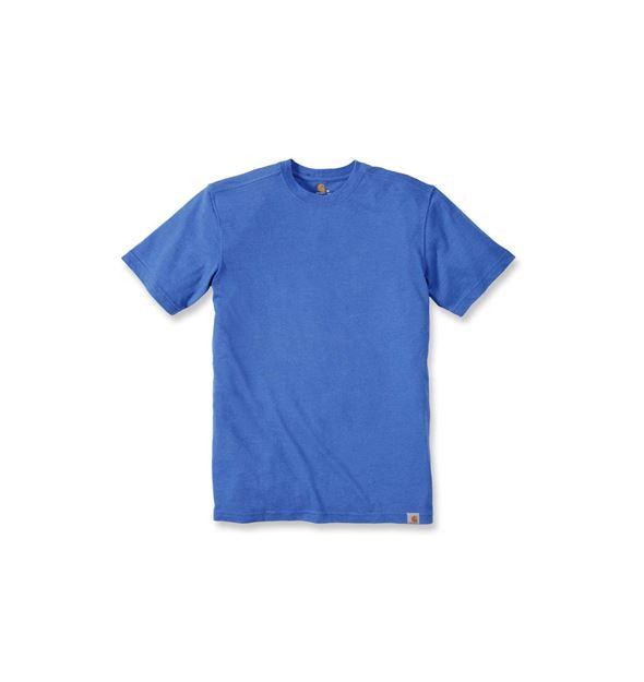 ΜΠΛΟΥΖΑΚΙ CARHARTT T-SHIRT MADDOCK SHORT SLEEVE 101124 BLUE