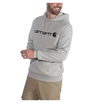 Μπλούζα FORCE DELMONT GRAPHIC HOODED SWEATSHIRT 103873 ASPHALT HEATHER - CARHARTT