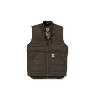 ΓΙΛΕΚΟ ΕΡΓΑΣΙΑΣ & OUTDOOR CARHARTT BROOKVILLE VEST 100740 BREEN