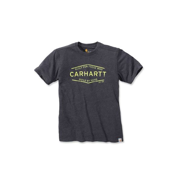 ΜΠΛΟΥΖΑΚΙ CARHARTT 103182 GRAPHIC SHORT SLEEVE T-SHIRT  CARBON HEATHER