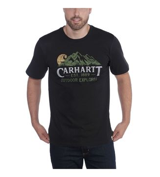 ΜΠΛΟΥΖΑΚΙ CARHARTT 104183 WORKWEAR EXPLORER GRAPHIC BLACK