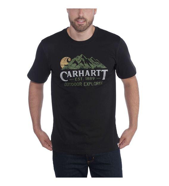 ΜΠΛΟΥΖΑΚΙ CARHARTT 104183 WORKWEAR EXPLORER GRAPHIC BLACK