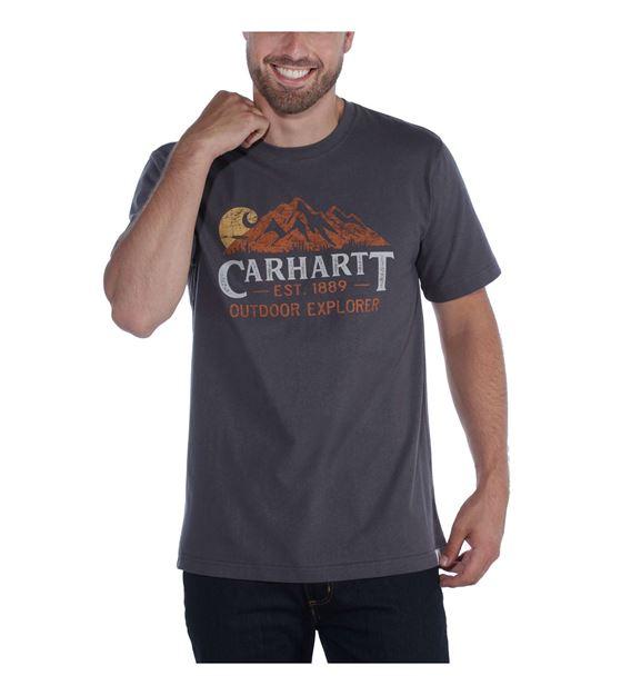 ΜΠΛΟΥΖΑΚΙ CARHARTT 104183 WORKWEAR EXPLORER GRAPHIC BLUESTONE
