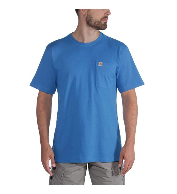 ΜΠΛΟΥΖΑΚΙ CARHARTT 104266 SOUTHERN POCKET TSHIRT BOLT BLUE