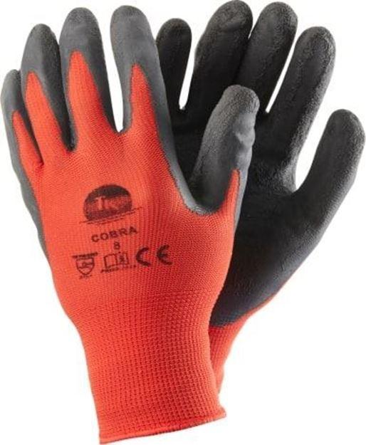 Γάντια εργασίας με επικάλυψη λάτεξ TK COBRA