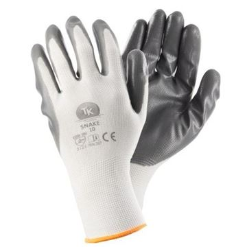 Γάντια εργασίας με επικάλυψη νιτριλίου TK SNAKE