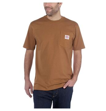 ΜΠΛΟΥΖΑΚΙ CARHARTT 104141 K87 ICON TEE BROWN