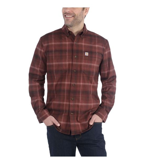 ΠΟΥΚΑΜΙΣΟ CARHARTT HAMILTON PLAID SHIRT 103820 DARK CHEDDAR