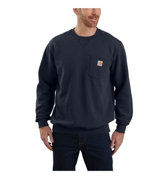 ΜΠΛΟΥΖΑ CREWNECK POCKET SWEATSHIRT 103852 NAVY- CARHARTT
