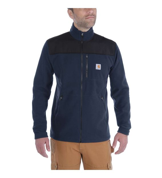 ΖΑΚΕΤΑ FLEECE CARHARTT FALLON ZIP SWEATSHIRT 102838 NAVY