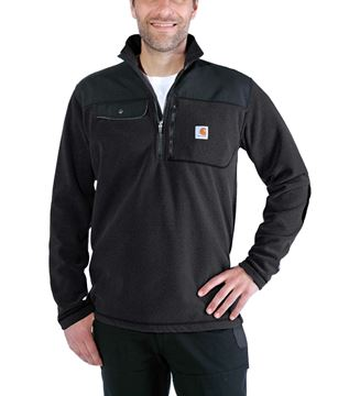 ΜΠΛΟΥΖΑ FLEECE CARHARTT FALLON HALF-ZIP SWEATSHIRT 102836 BLACK