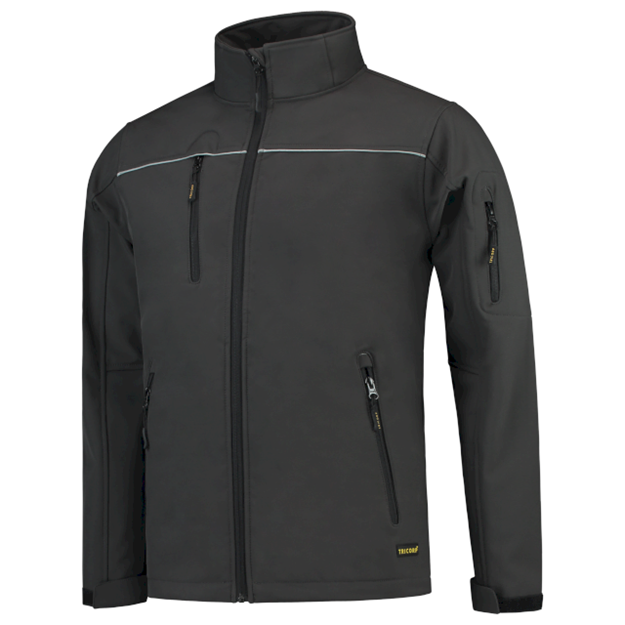 ΠΑΙΔΙΚΟ LUXURY SOFTSHELL TRICORP 402016 DARK GREY