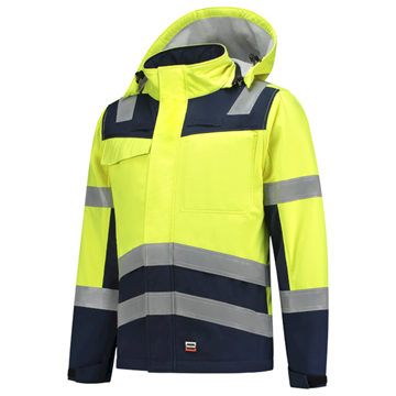 UNISEX SOFTSHELL TRICORP SAFETY HIGH VIS MULTINORM 403011
