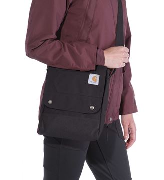 ΤΣΑΝΤΑ CARHARTT CROSSBODY BAG 131221B BLACK