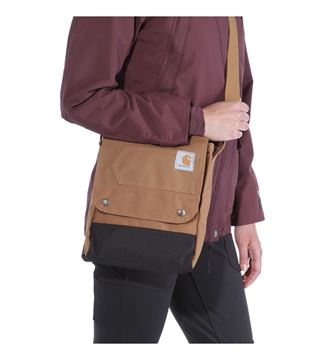 ΤΣΑΝΤΑ CARHARTT CROSSBODY BAG 131221B BROWN