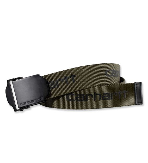ΖΩΝΗ WEBBING BELT BLACK CARHARTT CH2260 ARMY GREEN