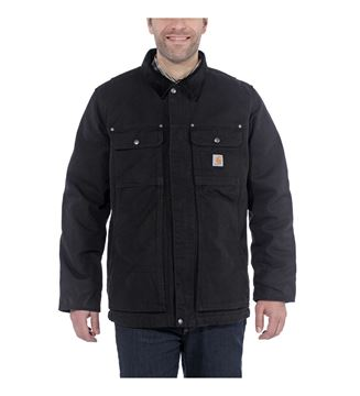 ΜΠΟΥΦΑΝ FULL SWING TRADITIONAL COAT 103283 BLACK - CARHARTT