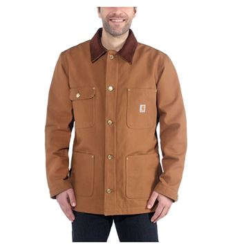 ΜΠΟΥΦΑΝ FIRM DUCK CHORE COAT 103825 BROWN - CARHARTT