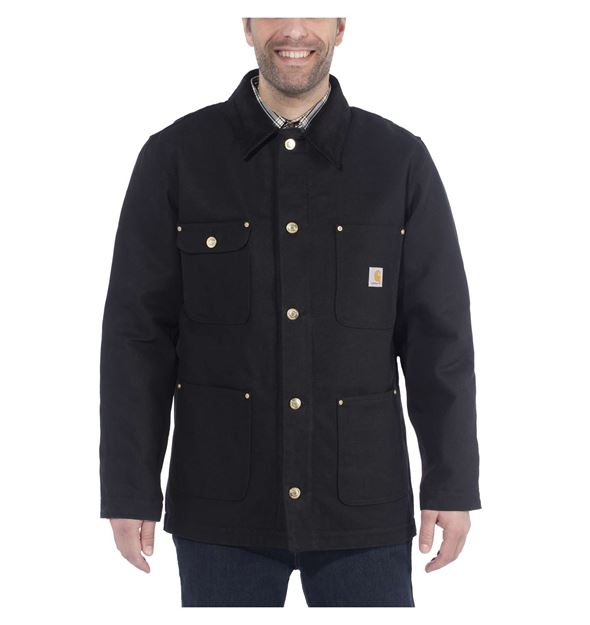 ΜΠΟΥΦΑΝ FIRM DUCK CHORE COAT 103825 BLACK - CARHARTT