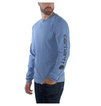 LOGO LONG SLEEVE T-SHIRT EK231 FHB - CARHARTT