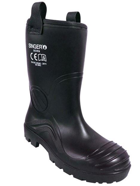 Μπότες ασφαλείας με επένδυση SINGER BORN S5 SRC