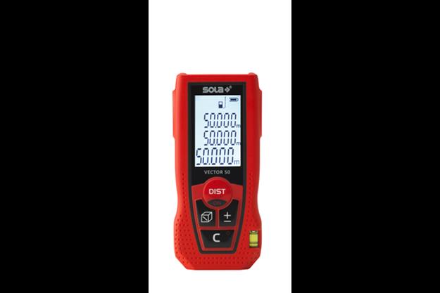 Μετρητής αποστάσεων Laser SOLA VECTOR 50