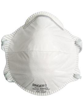 SINGER SAFETY μάσκα μιας χρήσης FFP2 NRD AUUM20SL