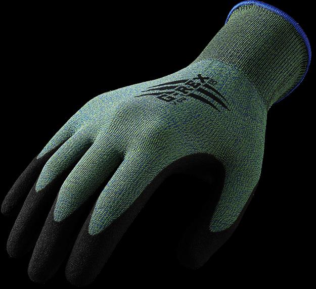 G-REX  γάντια προστασίας από κοπή με επικάλυψη PVC V03
