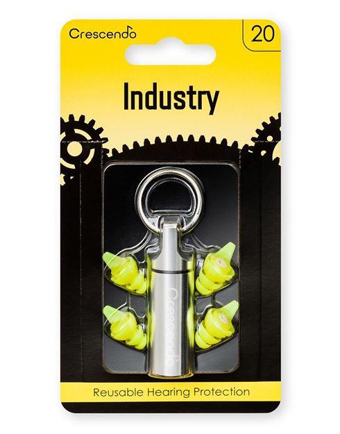 Ωτοασπίδες με τεχνολογία φίλτρων Crescendo Industry 20