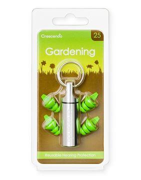 Ωτοασπίδες με τεχνολογία φίλτρων Crescendo Gardening 25
