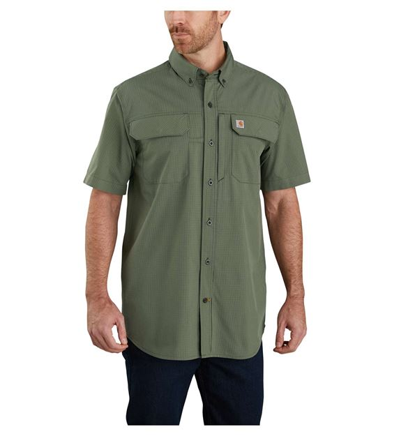 ΠΟΥΚΑΜΙΣΟ CARHARTT FORCE WOVEN SHIRT 104258 PEAT