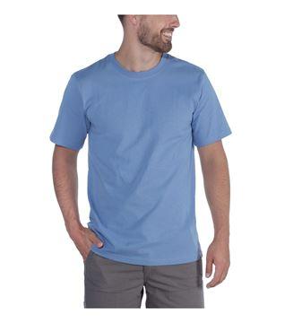 ΜΠΛΟΥΖΑΚΙ CARHARTT 104264 HEAVYWEIGHT SHORT SLEEVE T-SHIRT FRENCH BLUE