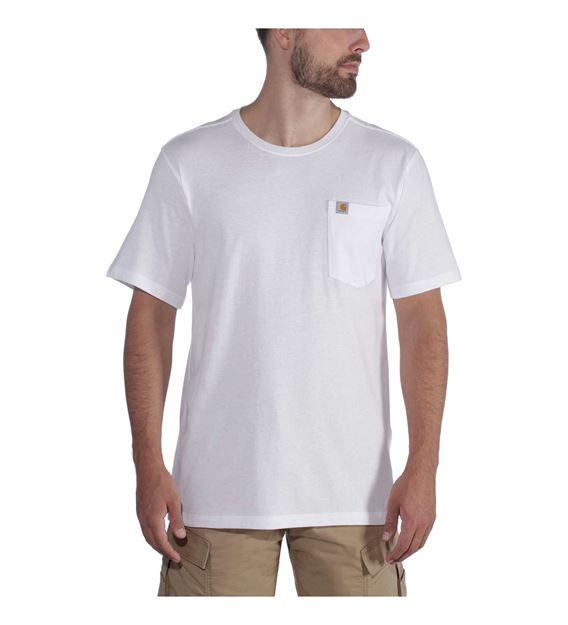 ΜΠΛΟΥΖΑΚΙ CARHARTT 104266 SOUTHERN POCKET T-SHIRT WHITE