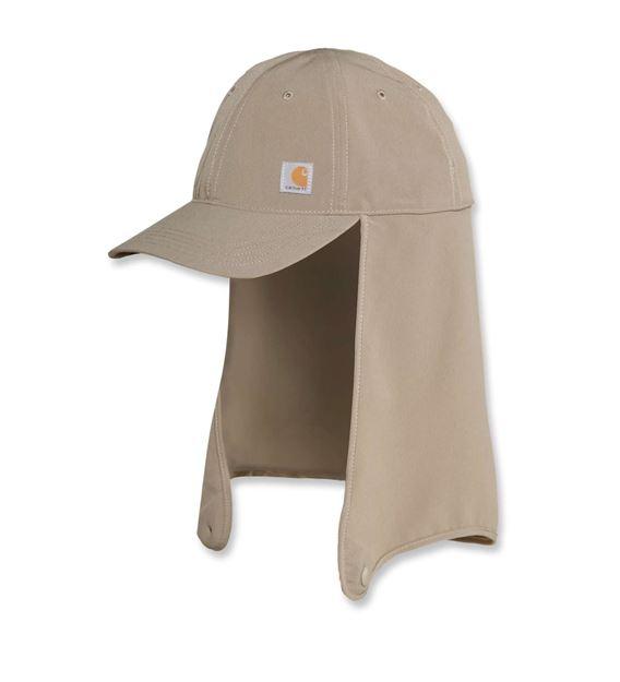 ΚΑΠΕΛΟ CARHARTT ANGLER NECK SHADE CAP DESERT 103527
