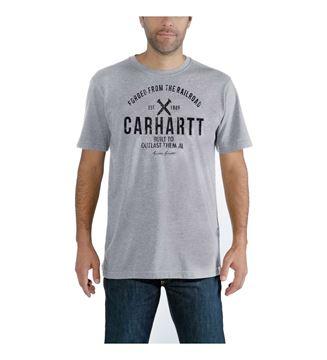 ΜΠΛΟΥΖΑΚΙ CARHARTT 103658 MADDOCK OUTLAST GRAPHIC T-SHIRT HEATHER GREY