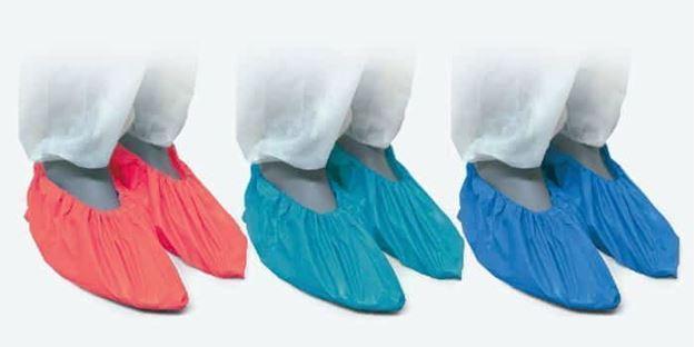 Μιας χρήσης καλύμματα παπουτσιών Santex DF01GB Πράσινα