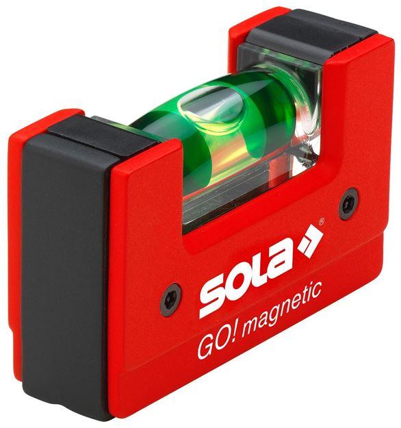 Μαγνητικό αλφάδι SOLA GO! Magnetic Clip