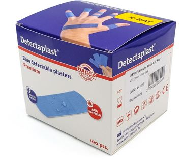 Ανιχνεύσιμα επιθέματα Detectaplast Premium 25 X 72 mm