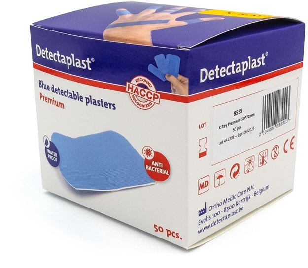Ανιχνεύσιμα επιθέματα Detectaplast Premium 50 X 72 mm